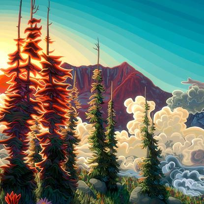 Across the Valley by Chili Thom
