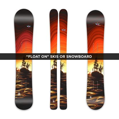 """Float On"" Custom Skis, Snowboard or Splitboard from Prior"