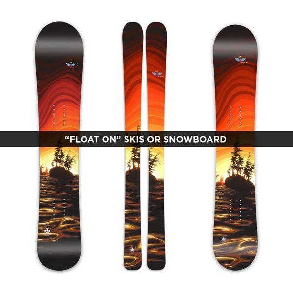 """Float On"" Custom Skis, Snowboard or Splitboard from Prior"