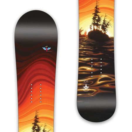 """Float On"" 160CM Prior Khyber Snowboard"