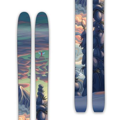 """Mountains In My Mind"" - 188CM Husume Skis from Prior"