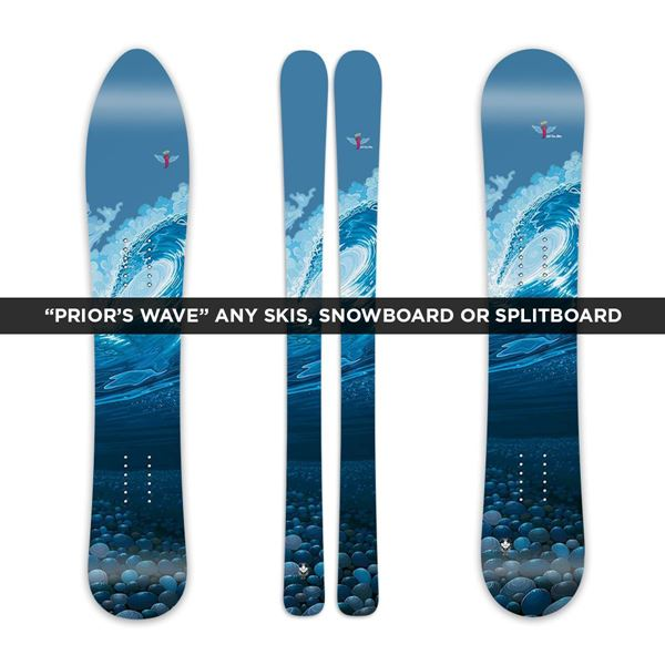 "Picture of - Any Skis Snowboard or Splitboard - ""Prior's Wave"""