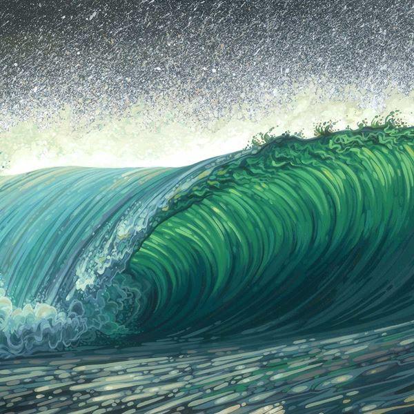 A Sheepish Swell by Chili Thom